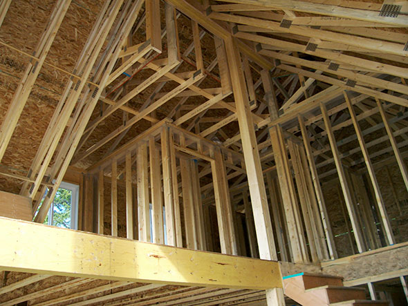 Framing – Wilkins Construction Ltd., slideshow of some examples of ...